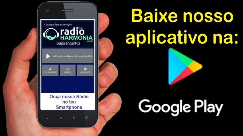 Resultado de imagem para baixe o aplicativo da radio