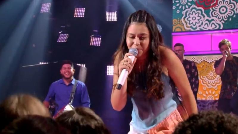 Eduarda Brasil vence o The Voice Kids
