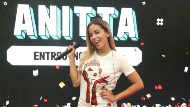 Anitta estreia programa de game no Multishow