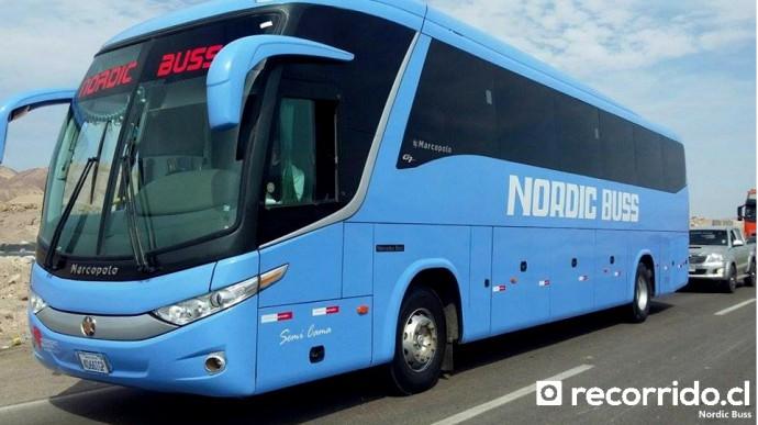 nordic buss - recorridocl - paradiso 1050 g7 - bolivia - arica - la paz