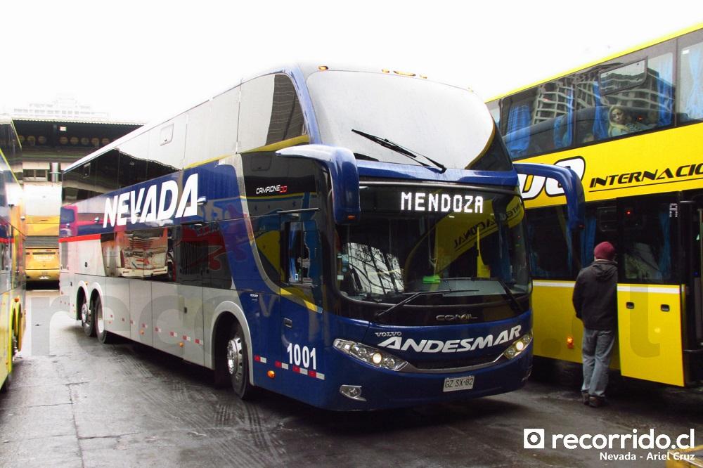 andesmar chile - nevada - 1001 - campione dd - mendoza - gzsx82