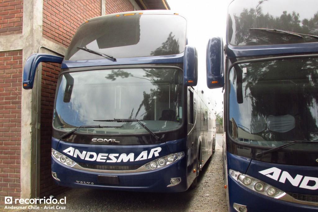 Nuevos buses #19 y #20 de Andesmar Chile