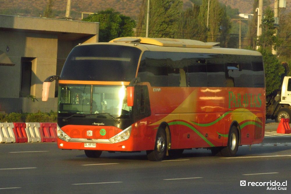 dlkf53 - paravías - palmira - navigator - peaje llayllay - djlc84 - kilometro 89