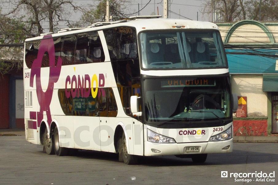 2439 - condor bus - ffvr26 - zeus - terminal sur