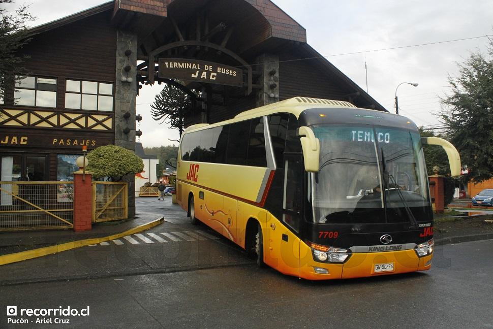 gwsl74 - jac - king long - 7709 - pucón