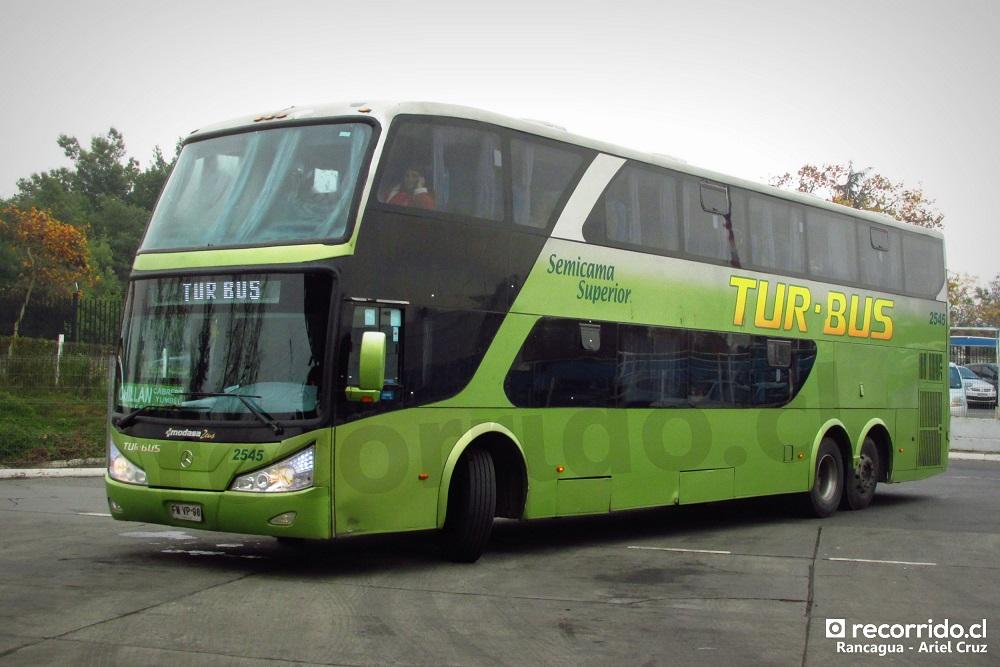 fwvp98 - 2545 - tur bus - chillán - rancagua - terminal o'higgins - zeus