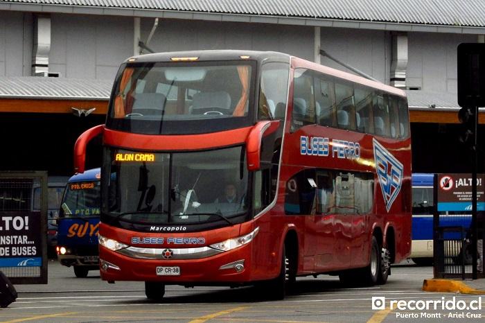 Buses Fierro en Terminal Municipal de Puerto Montt