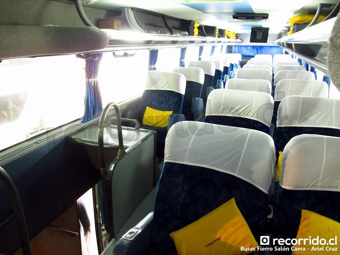 buses fierro - cdwd77 - salón cama - puerto montt