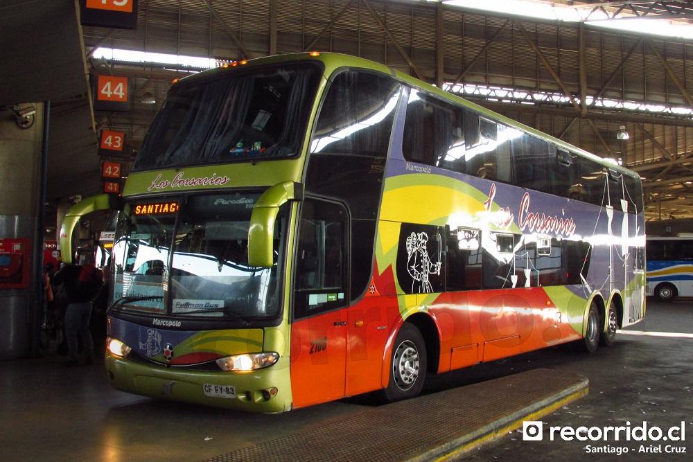 los corsarios - pullman bus - paradiso 1800 dd - volvo - 2108 - cffy83 - san borja