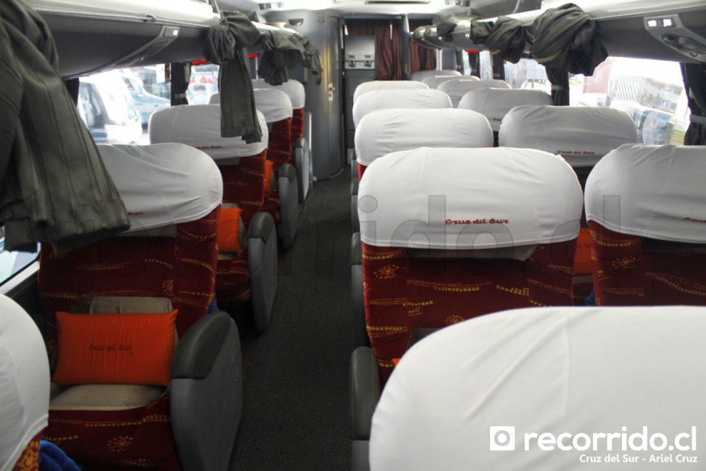 Interior Buses Cruz del Sur
