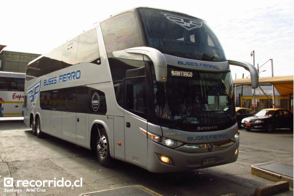 Buses Fierro en Santiago