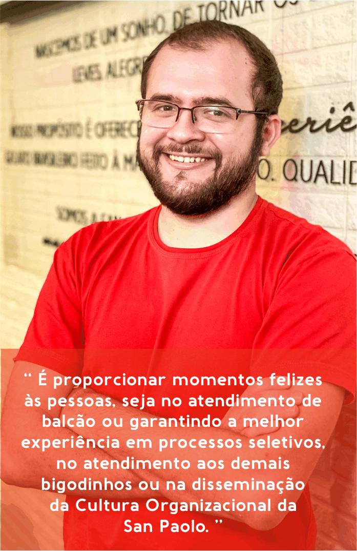 Ezequias Carvalho - Assistente de Gente & Gestão