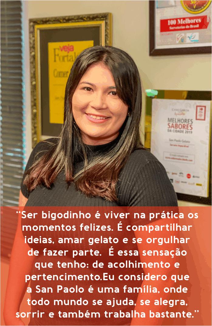 Milena Santos - Analista Financeiro
