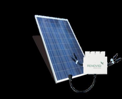 Kit Micro 2,01kWp - 127V - Renovigi