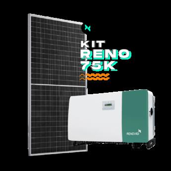 Kit String 110,55kWp - 220/380V - Renovigi