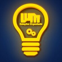 Logo Wm Solucoes Engenharia