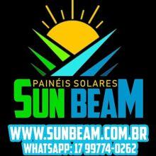 Logo SUN BEAM PAINEIS SOLARES