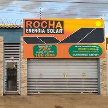 Logo ROCHA ENERGIA SOLAR