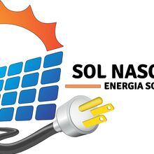 Logo SOL NASCENTE ENERGIA SOLAR