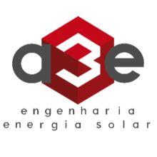 Logo A3E ENGENHARIA E ENERGIA SOLAR