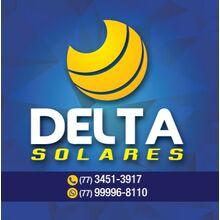 Logo DELTA SOLARES - ENERGIA RENOVAVEL
