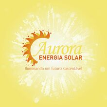 Logo AURORA ENERGIA SOLAR