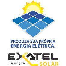 Logo EXATEL ENERGIA E TELECOMUNICACOES