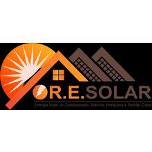 Logo R.E SOLAR
