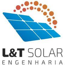 Logo L & T SOLAR ENGENHARIA