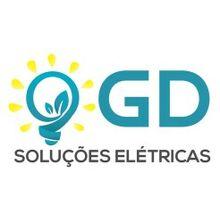 Logo GD SOLUCOES ELETRICAS