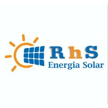 Logo RHS SOLAR E CFTV