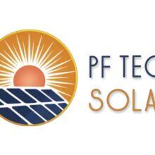 Logo Pf Tech Solar Energia Renovável