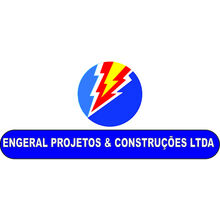 Logo ENGERAL PROJETOS E CONSTRUCOES