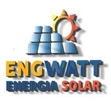 Logo ENGWATT SOLUCOES PREDIAIS E ENERGIA SOLAR