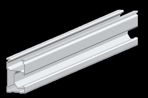 Perfil de Alumínio 2,22m (1un) - Renovigi