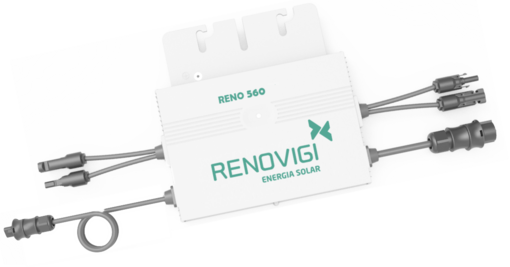 Microinversor - RENO560 - Mono - 220V/60Hz - Renovigi