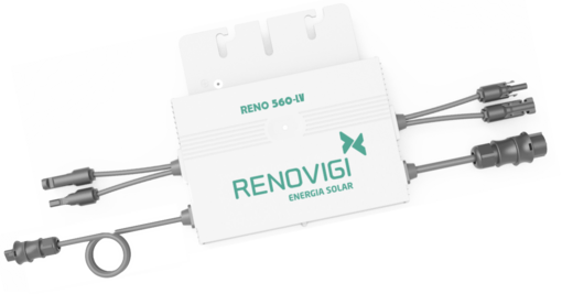 Microinversor - RENO560-LV - Mono - 127V/60Hz - Renovigi