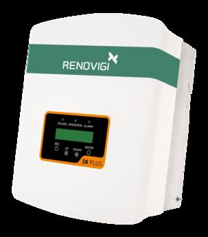 Inversor 3,0 kW - RENO-3K-PLUS - Mono - 220V/60Hz  - Renovigi