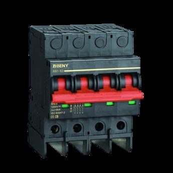 Disjuntor CC 4P 1200VCC/16A BENY - Renovigi