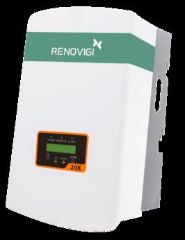 Inversor 20,0 kW - RENO-20K - Trif - 380V/60Hz - Renovigi