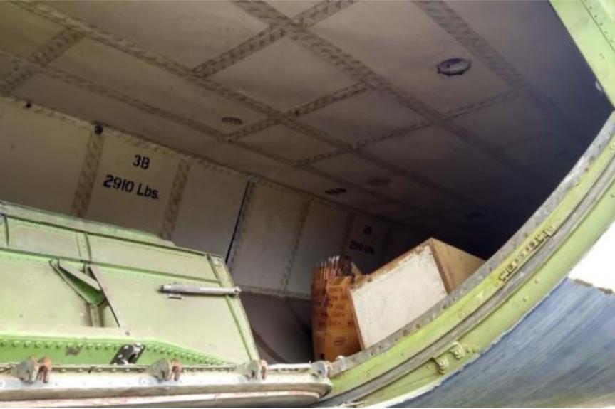 Aeronave cargueira com quatro turbinas a jato e quase 60 m de comprimento está à venda, e custa menos que as versões de topo desses SUVs