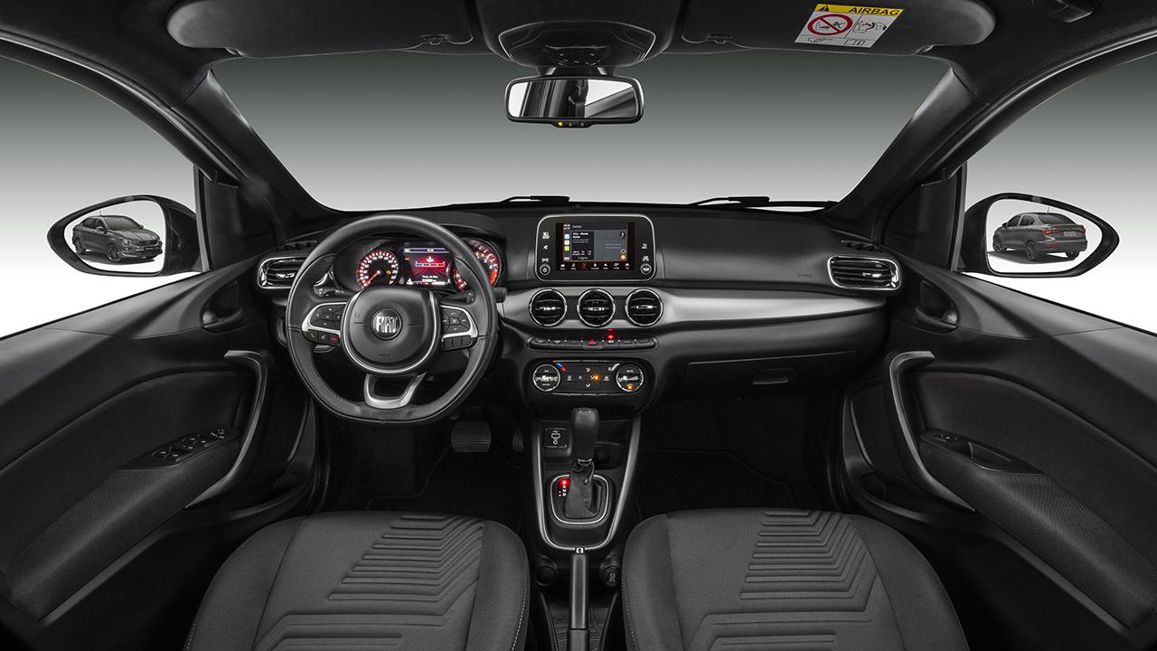 Sedan acompanha mudanças do irmão Argo na virada de ano-modelo, mas fica mais caro e mantém multimídia antigo