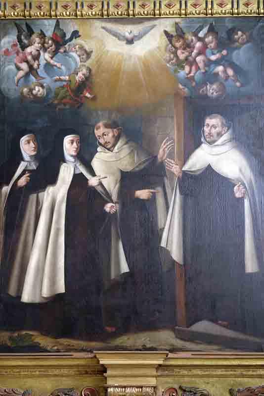 SANTO DO DIA: SANTA TERESA DE JESUS, GRANDE DAMA, GRANDE FREIRA, GRANDE SANTA