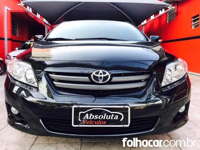Toyota Corolla Sedan XEi 1.8 16V (flex) (aut) - 09/09 - 43.900
