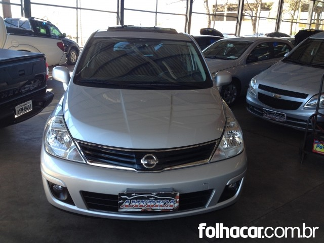 Nissan Tiida SL 1.8 (flex) (aut) - 10/11 - 30.900