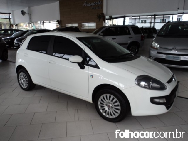 Fiat Punto Attractive 1.4 (flex) - 13/13 - 33.800