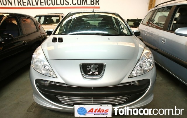Peugeot 207 Hatch XR 1.4 8V (flex) 4p - 09/10 - 19.900
