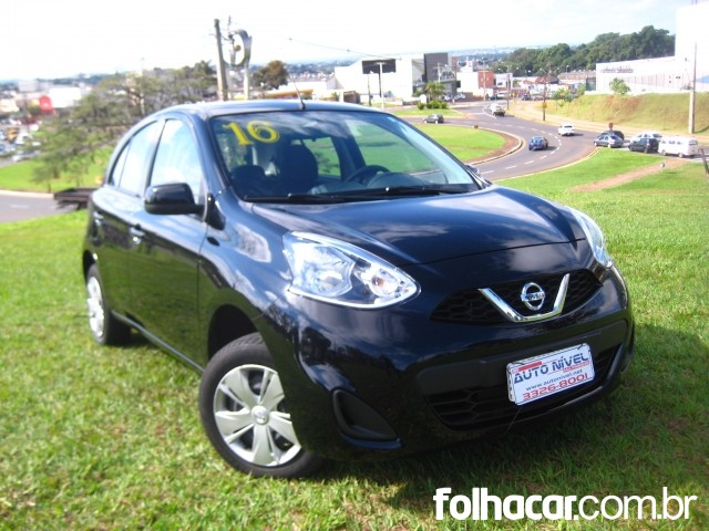 Nissan March 1.0 12V S (Flex) - 15/16 - 33.300