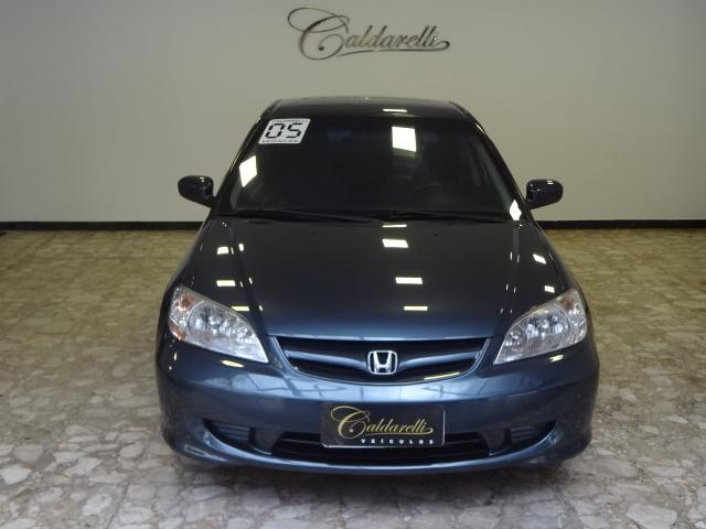 Caldarelli Veiculos   R Goias 1675   2005 Honda Civic Sedan LX 1.7 16V  Cinza Completo+AirBag+Rodas+Som