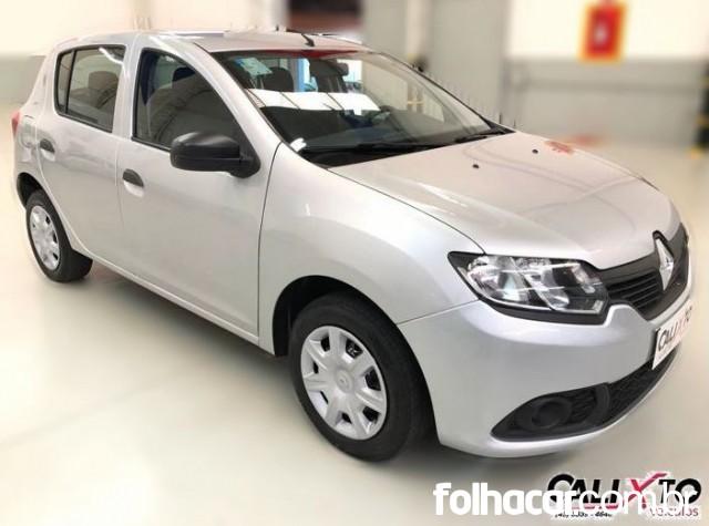 Renault Sandero Authentique Plus 1.0 16V (Flex) - 16/16 - 29.990